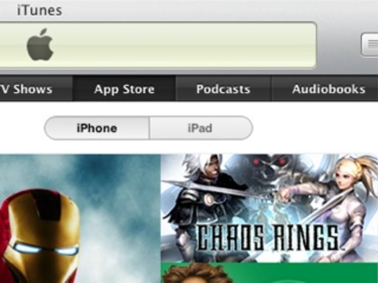 Hilfe, ich sehe nur noch iPad-Apps im iTunes Store