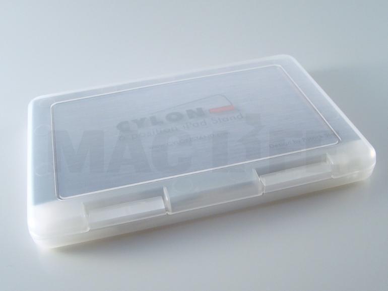 <b>Die Lieferung erfolgt in einer praktischen Box, auseinandergenommen passt der Cylon (fast) jede Tasche</b>