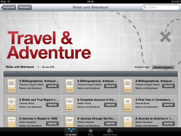 iBookstore ab sofort auch in Deutschland erreichbar