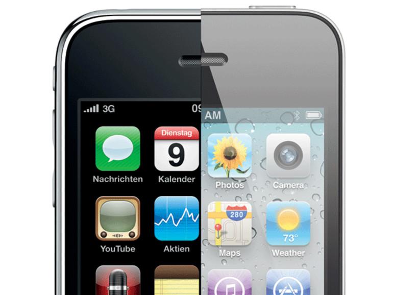iPhone 4: Daten übertragen von einem Vorgängermodell