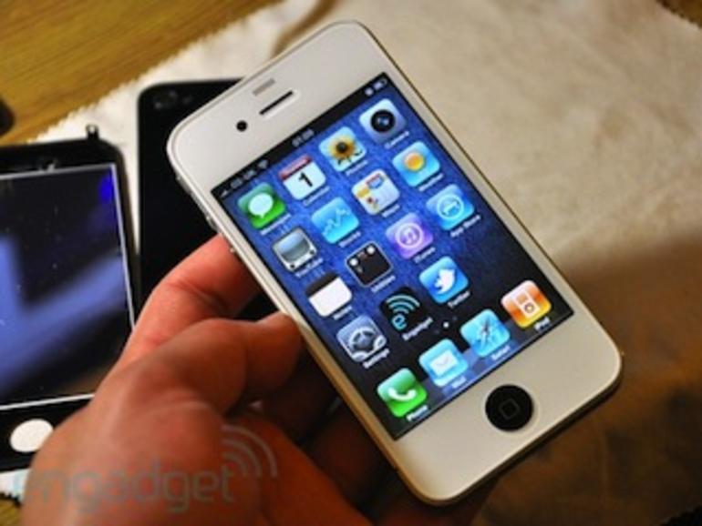 Weißes iPhone 4 selbstgebaut