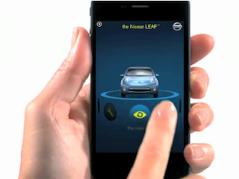 Erste iAd wirbt für Autohersteller Nissan
