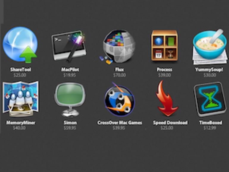 Zehn Mac-Programme für kleines Geld