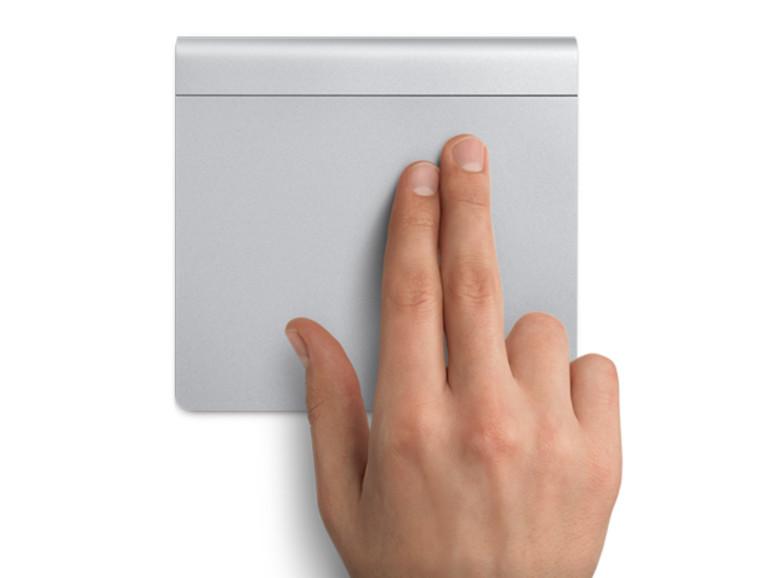 Rechts Klicken mit dem Trackpad