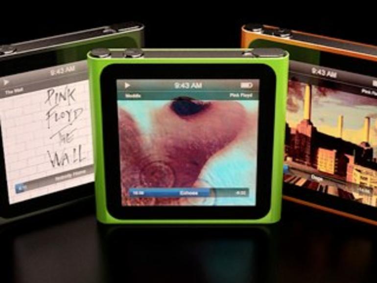Sieht so der neue iPod nano aus?