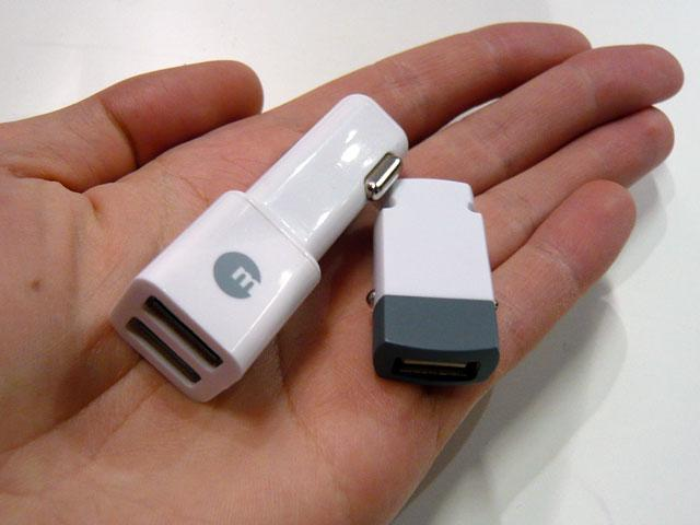 <b>Macally:</b> Kfz-USB-Adapter (9,95 - 14,95 Euro)