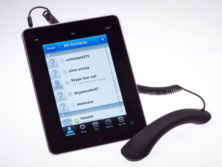 IFA iZone: Telefonhörer für Internet, iPhone und iPad