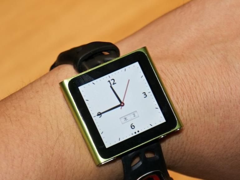 iPod nano 6G als Armbanduhr