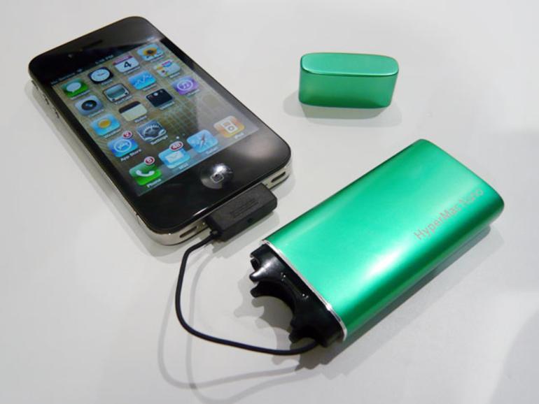 IFA iZone: Akkupacks für alle Apple-Geräte, iPad-Festplatte