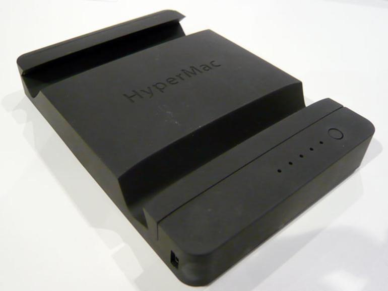 <b>HyperMac iPad Stand:</b> Mischung aus iPad-Ständer und iPad-Akku