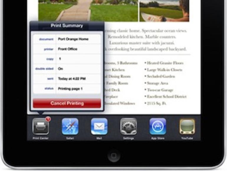 Apple streicht AirPrint-Unterstützung für den iPod touch 2G