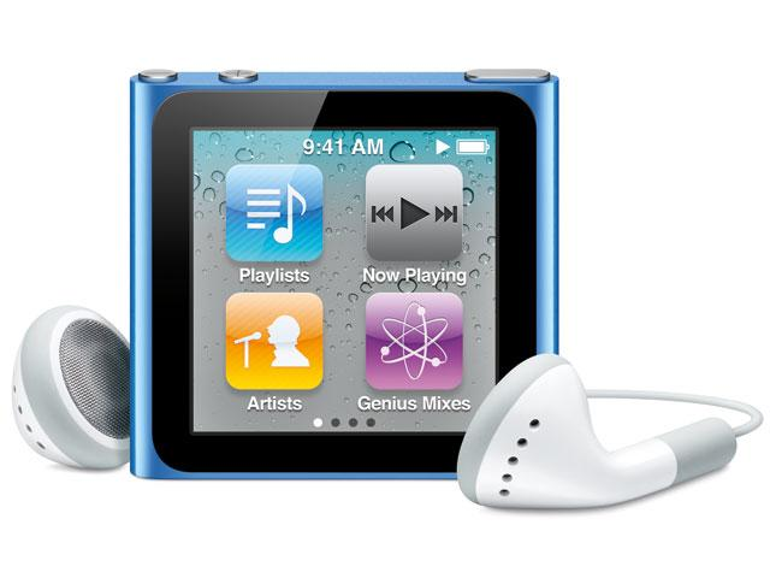 iPod nano, shuffle in acht Farben?