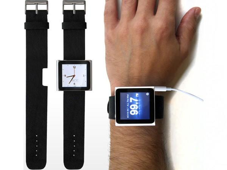 iLoveHandles verwandelt neuen iPod nano in Armbanduhr