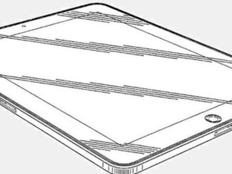 iPad-Designpatent zeigt zwei Dock-Anschlüsse
