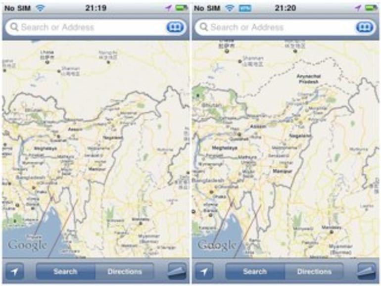 iPhone 4: Chinesen erhalten zensierte Karten-Anwendung