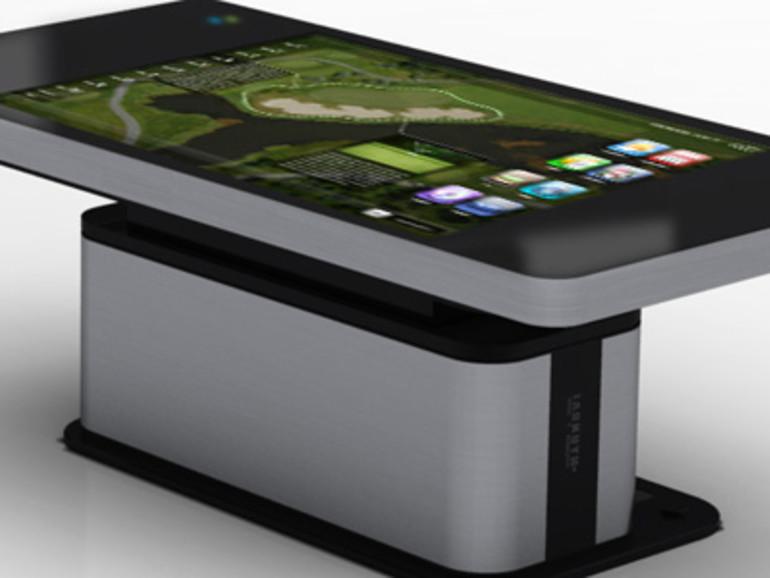 Hyundai Zeigt Touchscreen Tisch In IPhone 4 Aufmachung