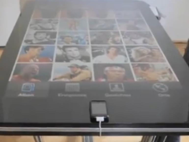 Table Connect, der iPhone-Tisch