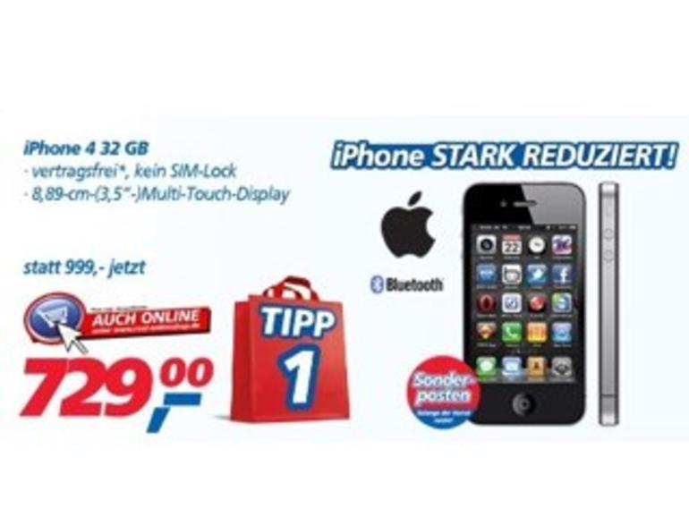 Importware: Real stoppt iPhone-4-Verkauf, startet Rückrufaktion