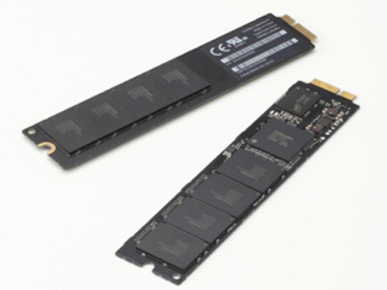 Blade X-gale: Toshiba stellt MacBook Air kompatible SSD-Module vor
