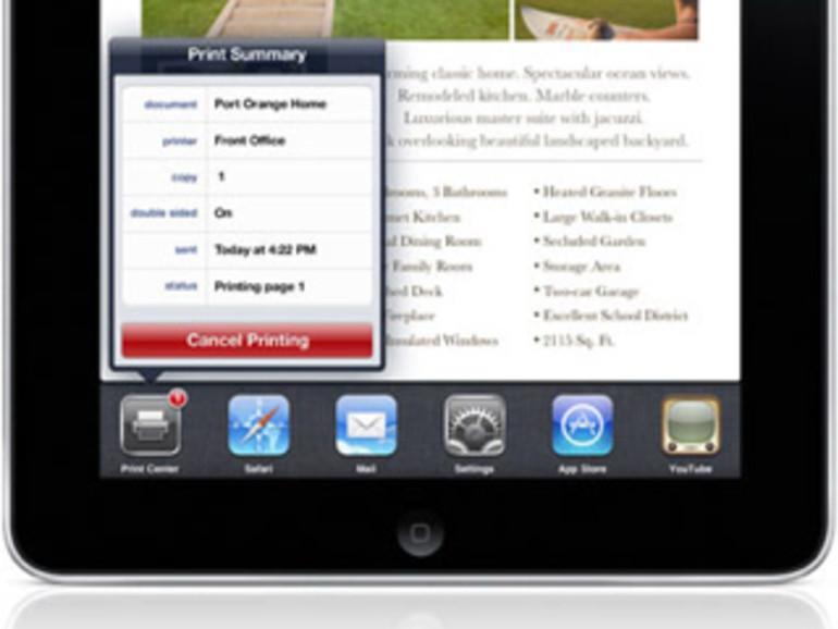 AirPrint: Drucken mit iPad und iPhone