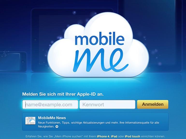 Was passiert mit MobileMe?