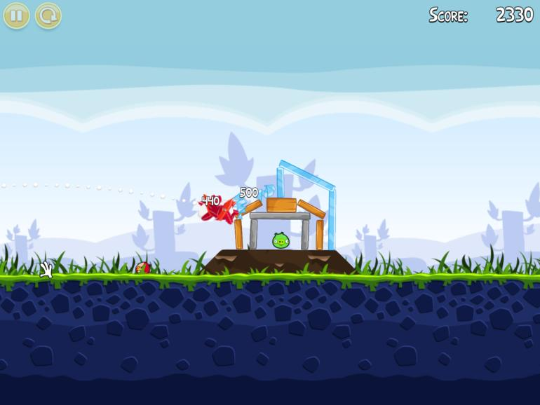 Mac App Store: Angry Birds im Test