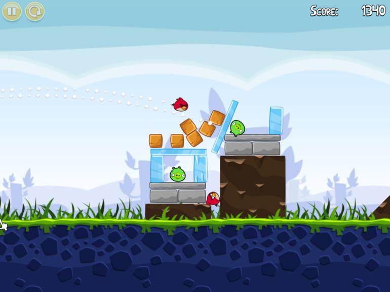 Mac App Store: Angry Birds im Test