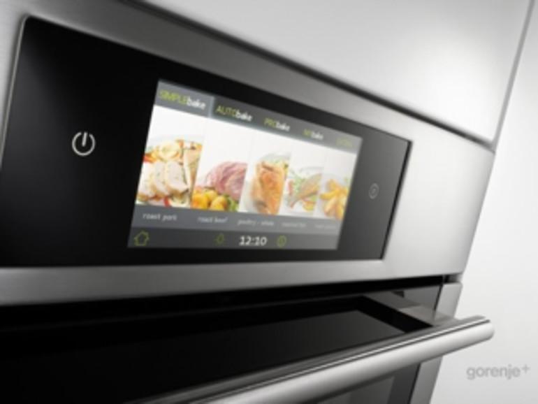"""Gorenje zeigt Touchscreen-Backofen """"iChef"""""""