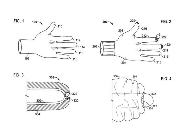 Multi-touch zum Anziehen: Apple arbeitet an magischem Handschuh