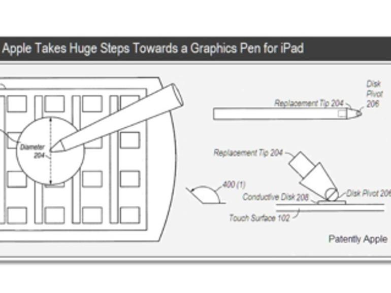 Neues Apple-Patent beschreibt Stylus für iPhone und Co.