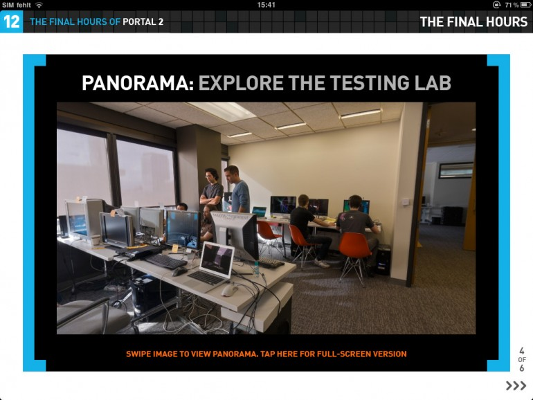 Portal 2: Making-of als iPad-App veröffentlicht