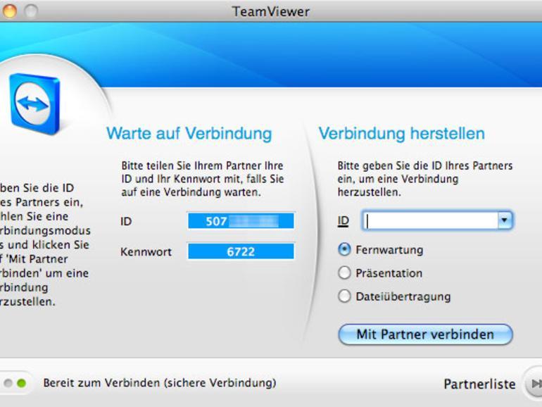 Kostenlos: Mac-Fernwartung per iPad