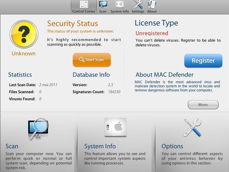 Apple kündigt Update gegen Mac-Defender-Malware an