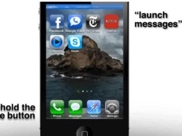 Konzeptvideo: So könnte die Spracherkennung in iOS 5 funktionieren