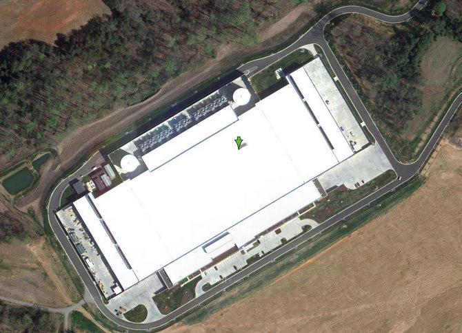 <b>Apples Datenzentrum in North Carolina: </b> Hier soll Apples iCloud-Herz schlagen