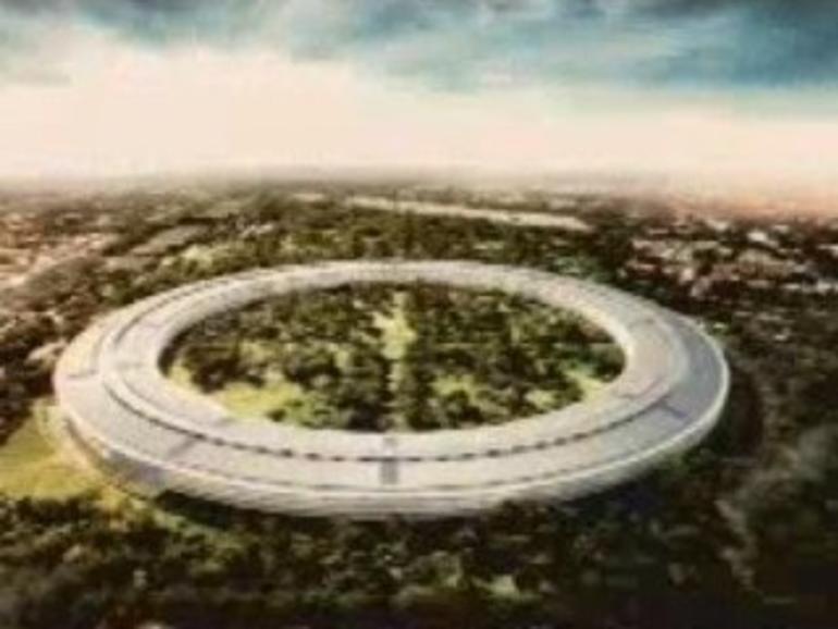 Neuer Apple Campus soll wie ein Raumschiff aussehen