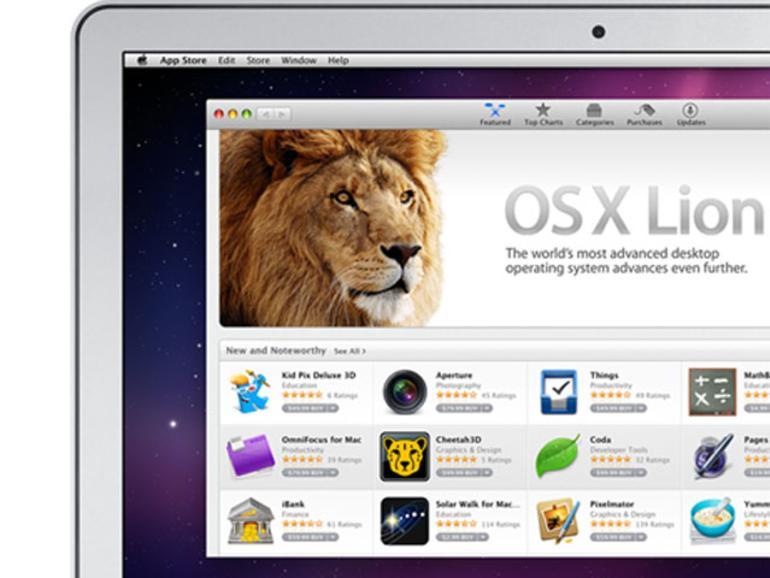 Up-To-Date: Wer jetzt einen Mac kauft, erhält Lion kostenlos