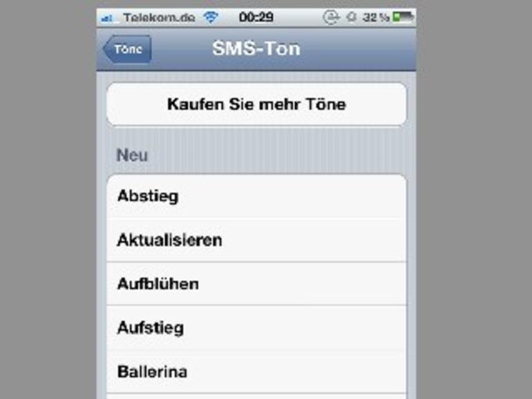 iTunes Tone Store in iOS 5: Apple will zusätzliche SMS-Hinweistöne verkaufen