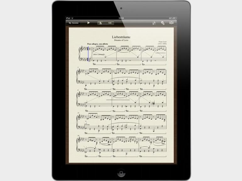 Avid Scorch verwandelt iPad in vielseitigen Notenständer