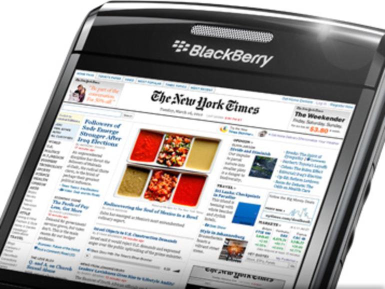 Wird der BlackBerry-Hersteller RIM das erste iPhone-Opfer?