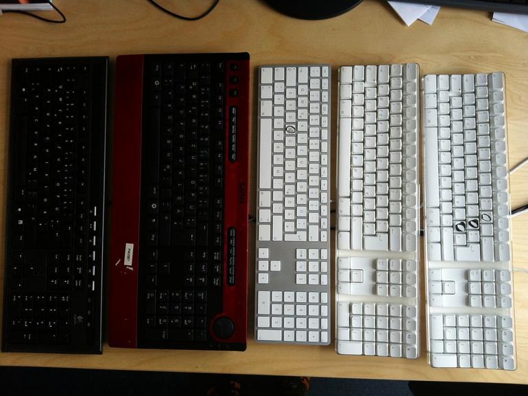 Tastatur in der Spülmaschine - Das Ergebnis