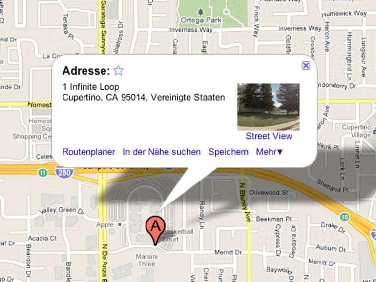 Apple-eigene Karten-App: Kleingedrucktes als weiteres Indiz