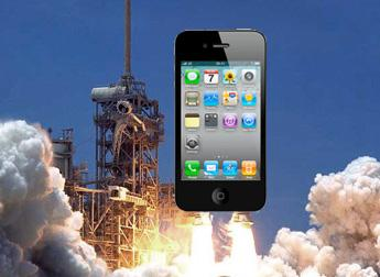iPhone an Bord der letzten Space-Shuttle-Mission