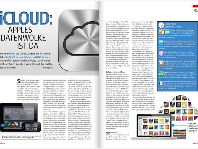 Mac Life 08.2011 jetzt als PDF laden – Neu für Abonnenten: Gratis-Download über die Mac Life iPad-App