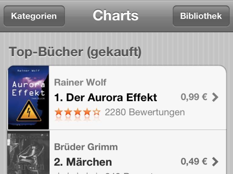 Der Erstplatzierte spricht: So viel Geld lässt sich im deutschen iBookstore verdienen