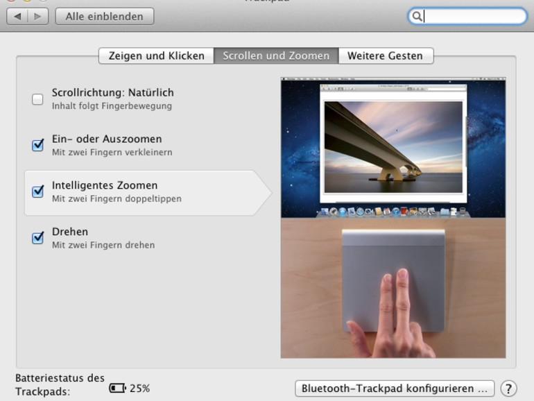 OS X Lion: Das sind die neuen Trackpad-Gesten