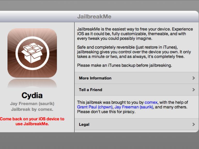 iOS-Hacker Comex arbeitet nicht mehr für Apple