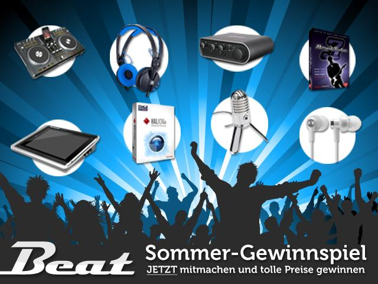 Sommer-Gewinnspiel: Mitmachen und täglich tolle Preise für Recording, Mixing und DJing mit Apples iPhone & Co gewinnen!