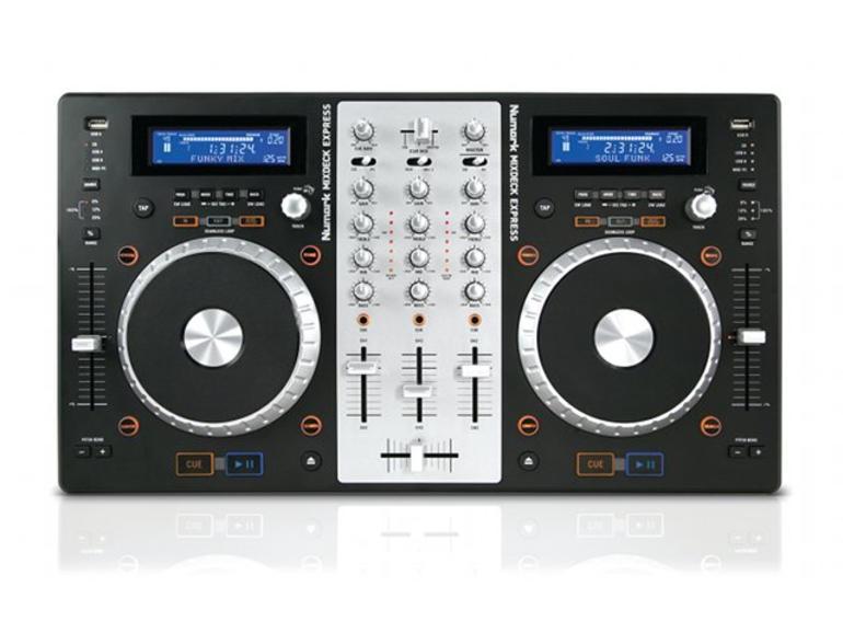 Numark Mixdeck Express: voll ausgestatteter DJ-Controller
