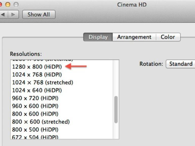 <b>HiDPI: </b>Höhere Auflösung für zukünftige Monitore?